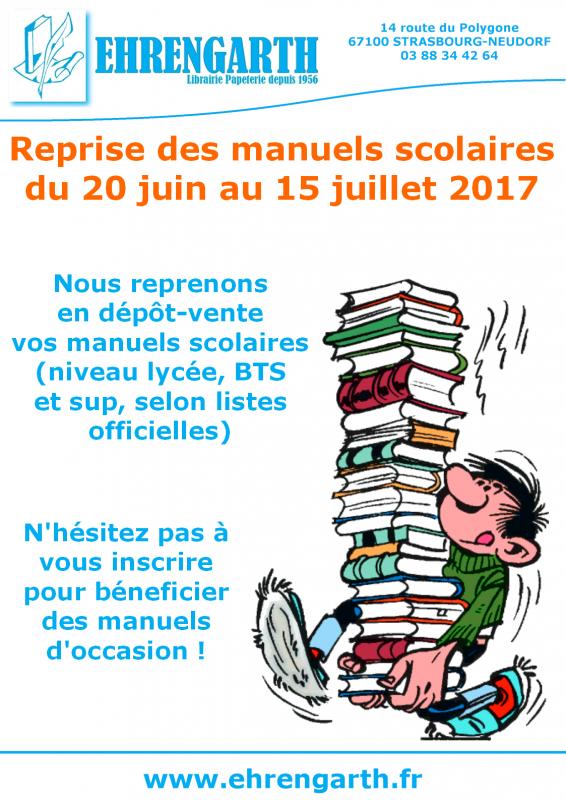 Manuels scolaires 2017